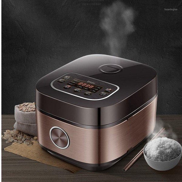 top popular 3-4L Electric Cooker Rice Electric Cooker Rice Machine 3D Heating Thin Smart Booking Steamer1 2021