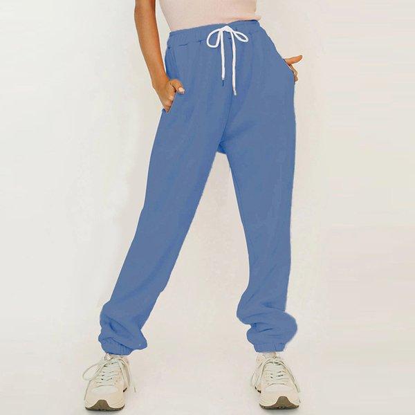 Calças azuis