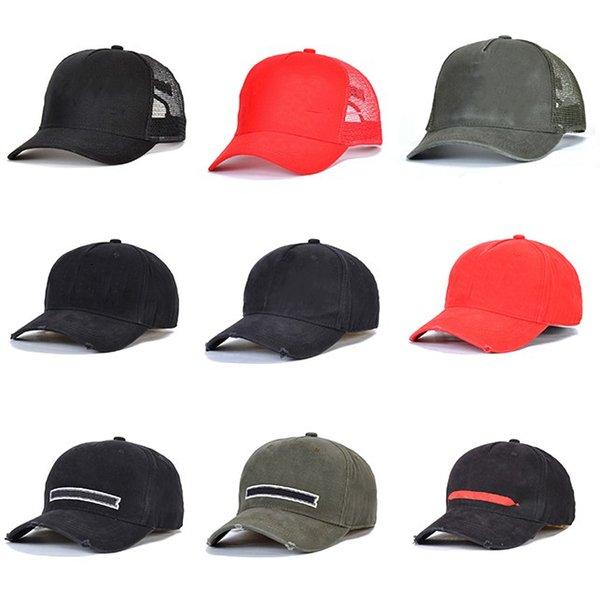 top popular baseball cap fashion mens hats summer fitted hat cap for women men s baseball trucker caps snapback M9Q 2021