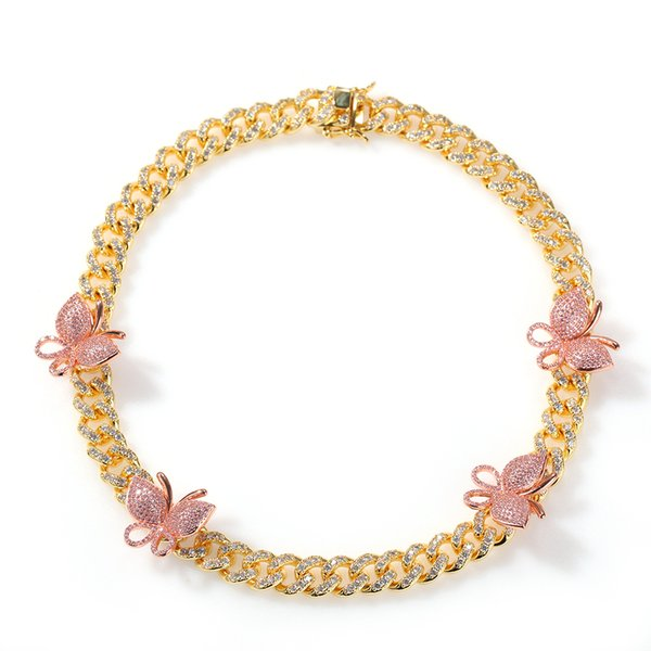 Oro rosa Butterfly-16inch