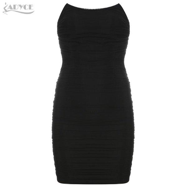 Schwarz-Verband-Kleid