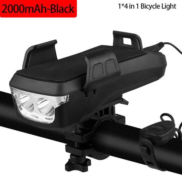 2000mah Black