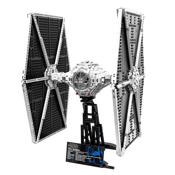 top popular 05036 1685Pcs Movie Genuine Series 75095 Fighter Mobile Building Block Bricks Toys Christmas Gift 75095 2021