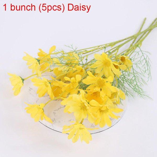 1bunch Yellow Daisy