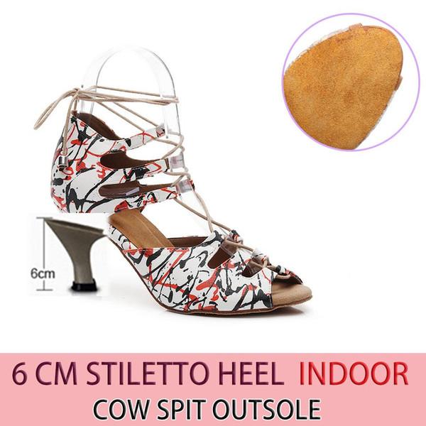 Leder 6cm Heel