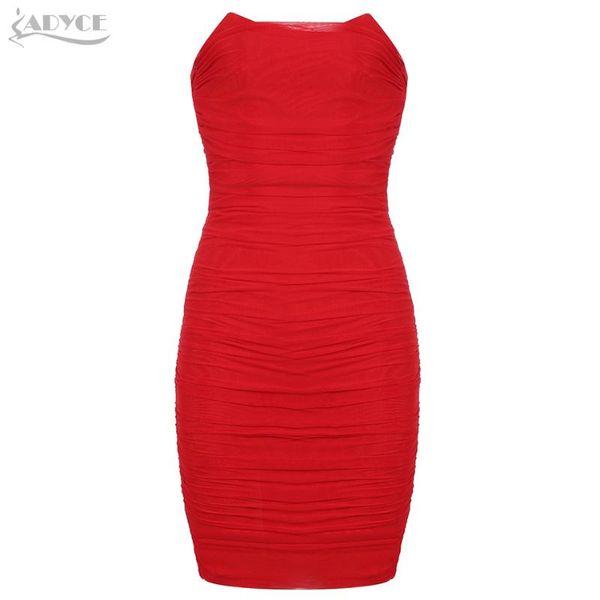 Red-Verband-Kleid