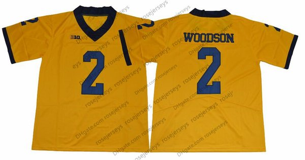 2 Charles Woodson Jaune