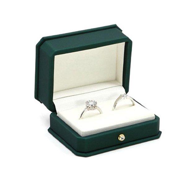 Doble Caja del anillo ROJO