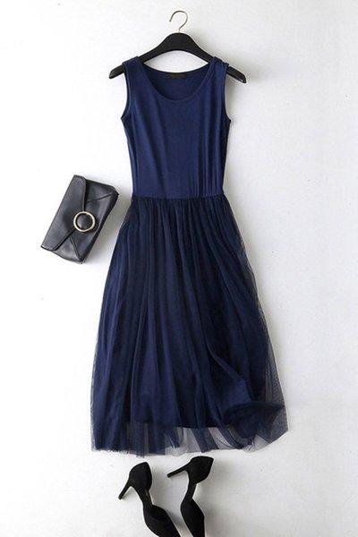 Vest bleu marine