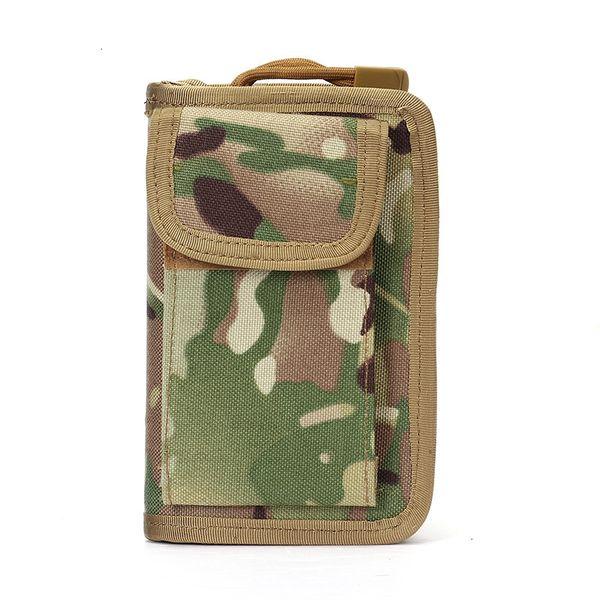 top popular Mini Tactical Purse Organizer Molle Nylon EDC Utility Gadget Waist Pack Pouch Key Purse Bag 2021
