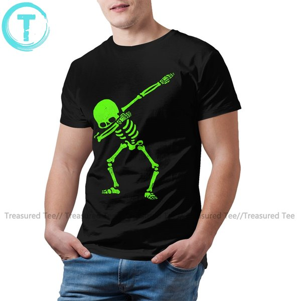 skeleton unicorn t shirt dabbing skeleton green t-shirt fun tee shirt print big man short-sleeve tshirt sport hooded sweatshirt hoodie
