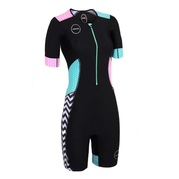 top popular 2019 Zone3 Women skinsuit triathlon sexy body cycling jersey Maillot clothing go pro team ciclismo jumpsuit ski suit 2021