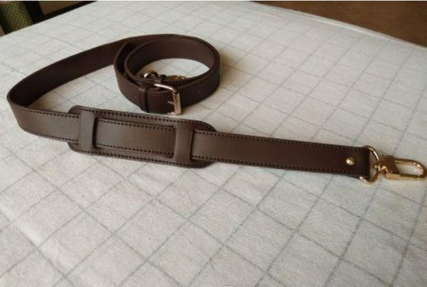 best selling Genuine Leather Crossbody Strap Replacement Adjustable Bag Accessories Gold Hardware