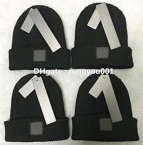 top popular Fashion Unisex Spring Winter Hats for Men women Knitted Beanie Wool Hat Man Knit Bonnet top quality Beanies hip-hop Gorro Thicken Warm Cap 2021