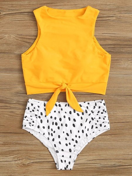3 yellow leopard spot