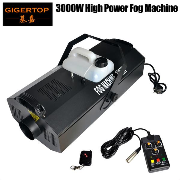 top popular TIPTOP 3000W Fog Machine DMX512   regularly time  regularly quantitative Wireless Remote Control Disco Club 3000W Fog Smoke Machine 2021