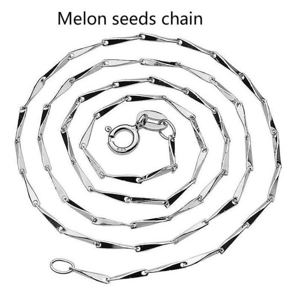 1.0mm melon beads chain