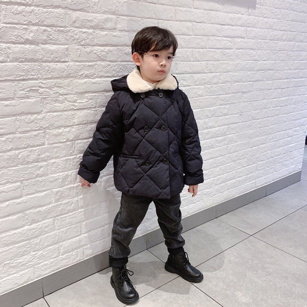 top popular New Children Short Down Jackets for Girls Winter White Duck Down Jacket Kids Thick Warm Coat High Quality Children Winter Coat 2021