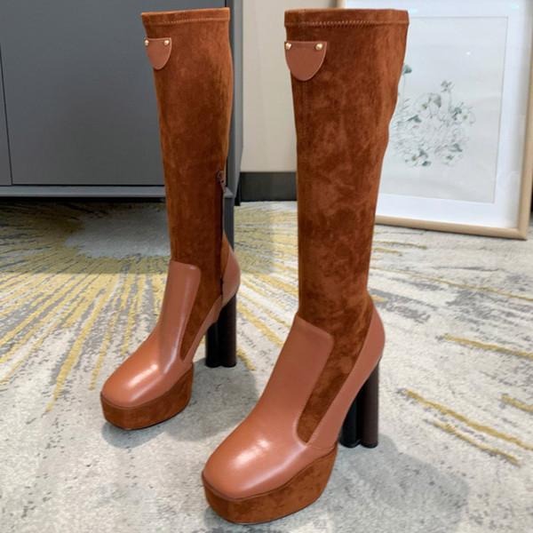 Brown Muslo-Altas botas