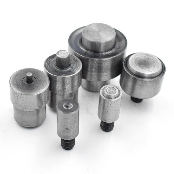 top popular 3.5mm-40mm Eyelets Metal hole. rivet. Button. mold machine for buttons. Eyelets installation tool. Metal stomatal dies 2021