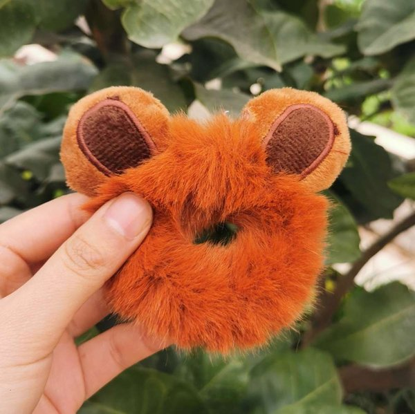 Bären-Ohr-Karamell-Haarnadel