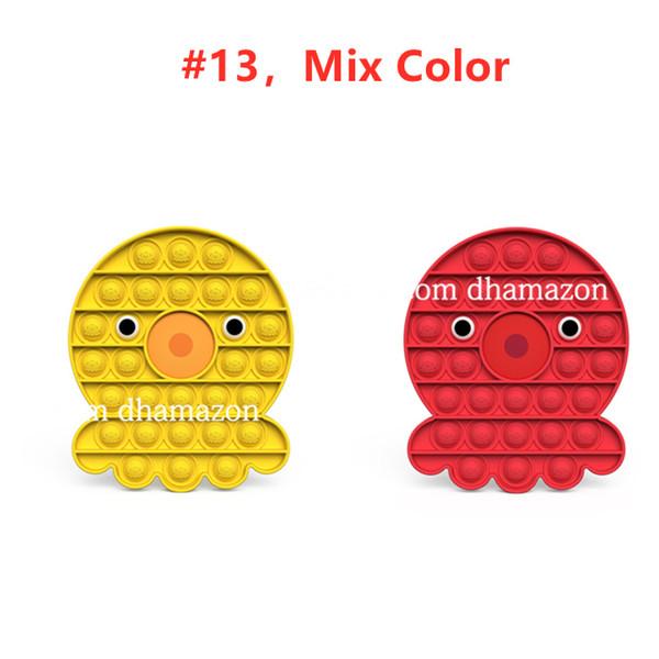 # 13, mélange couleur