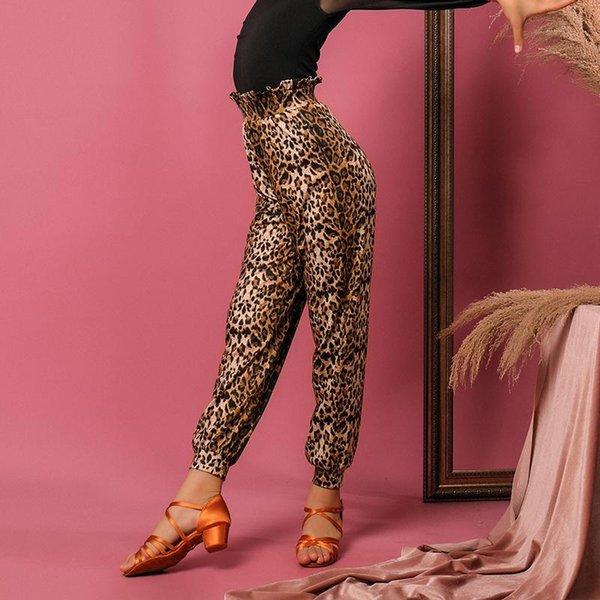 Leopard pantaloni