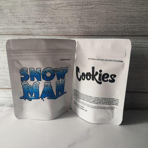 Снеговик печенье сумки