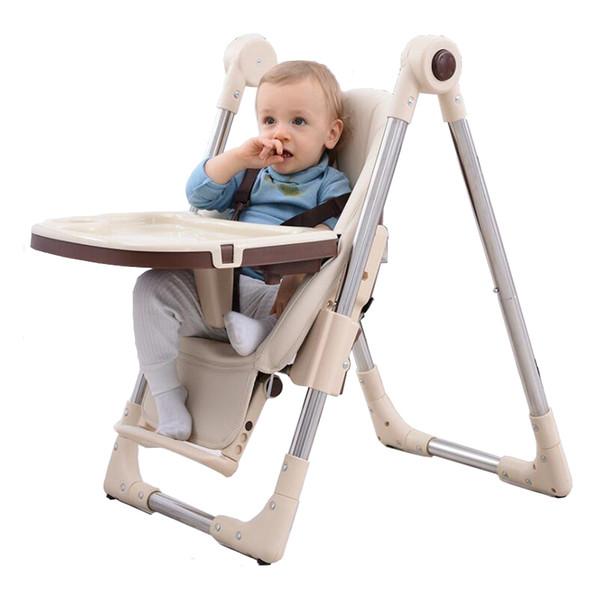 best selling Baby Feeding Chair Highchairs Kids Dining Table Baby stoel Kinderstoel LJ201110