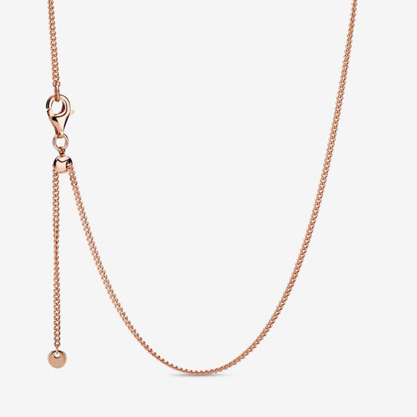 60 cm (ajustável) ouro rosa