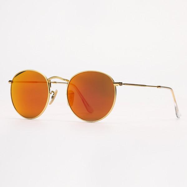 Miroir or / orange