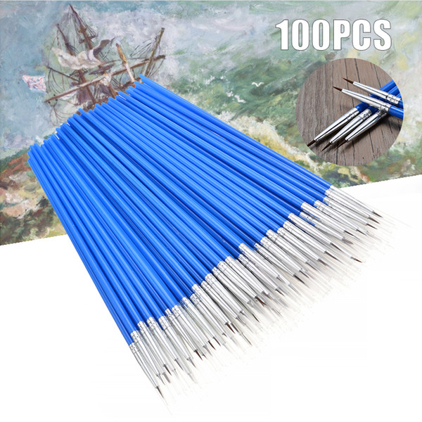 best selling 100pcs set Micro Extra Fine Detail Art Craft Paint Brushes for Traditional Chinese Oil Painting Q1107