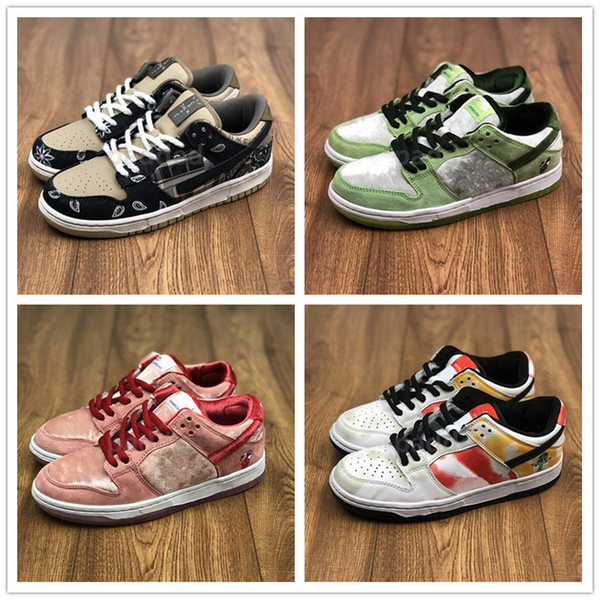 top popular Milk SB Dunk Chunky Dunky Ice Cream Shoes For Sale Men Women Sports Kids Running Shoes Store Wholesale Prices 2021