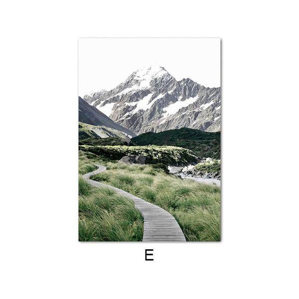 10x15cm No Frame Picture E