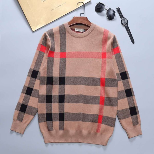 best selling 2020 Fashion High Quality Sweater Fashion Womens Mens Sweater Pullover Long Sleeve Letter Printed Couple Sweaters Size M-3XL