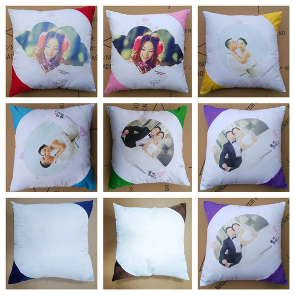 best selling Heat Sublimation Blank Pillow Case Thermal Transfer Printing Pillow Case DIY Gifts Personalized Pillowcase Diagonal Pillow Covers G11206