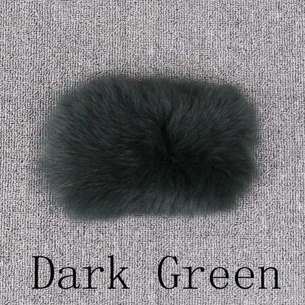 Verde Oscuro-XXXL del busto 104 Cm