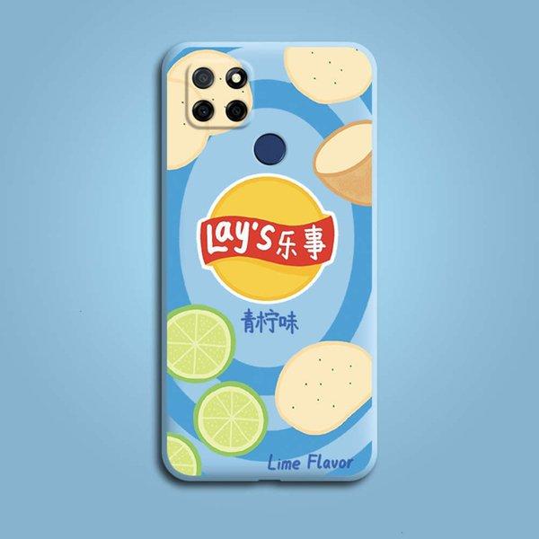 REALME Q2I - Sky Blue - Leeshi - Lime