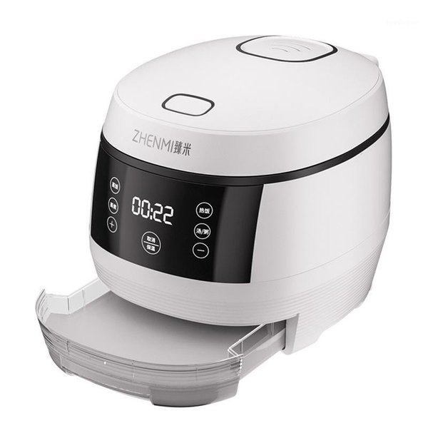 top popular Professional Desugared Electric Rice Cooker 3L Smart Multi-functional Health Care Small Full Automatic Mini Rice Cooking Machine1 2021
