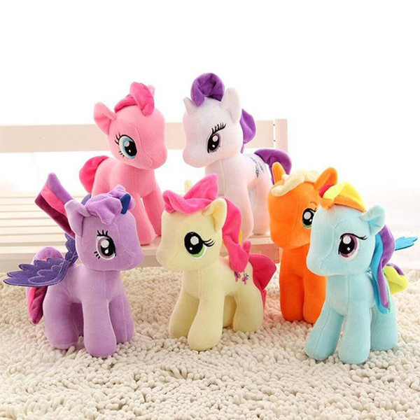 top popular New plush toys 25cm stuffed animal My Toy Collectiond Edition Plush send Ponies Spike toys As Gifts For Children gifts kids toys 2021