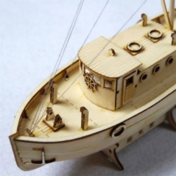 best selling 1:30 Wooden Scale Model Ship Assembly Model Kits Classical Boat Wood Crafts Ornaments Party Home Room Decoration Toys Kids Gifts Y200428