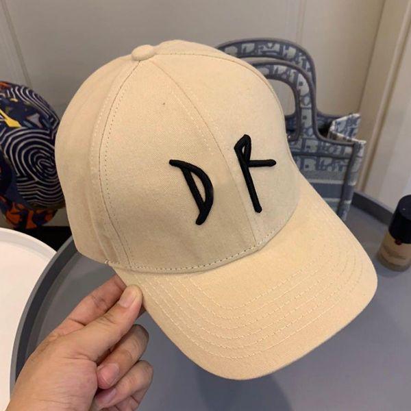 top popular Designers Caps Hats Mens High Quality Hard Baseball Cap Mens Hats Male Female Cotton Cloth Cap Embroidery Winter Hat No Box Da 20120902DQ 2021