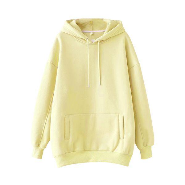Hoodies Amarelo