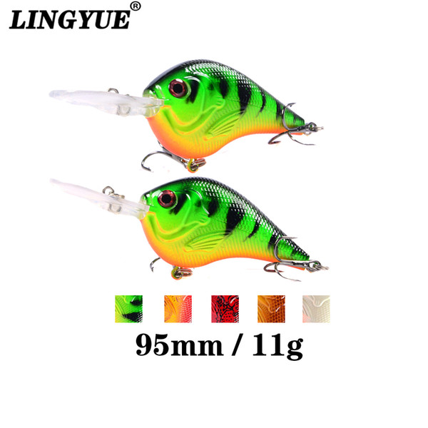 ports & Entertainment Brand Lifelike VIB Floating Fishing Lure 9.5CM 11G Pesca Hooks Fish Wobbler Tackle Crankbait Artificial Japan Hard ...