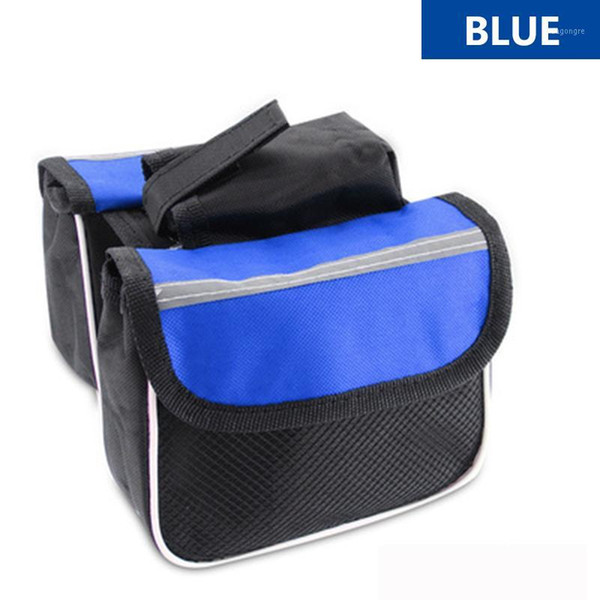 top popular Cycling Bags Mountain Bicycle Bag,Top Frame Front ,High-capacity Phone Fuction Bag ,Double Pouch Bike Accessories Package1 2021