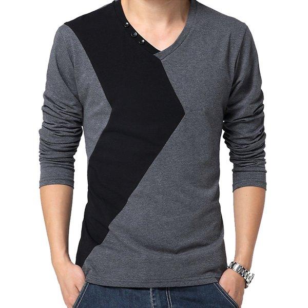 Koyu gri tişört