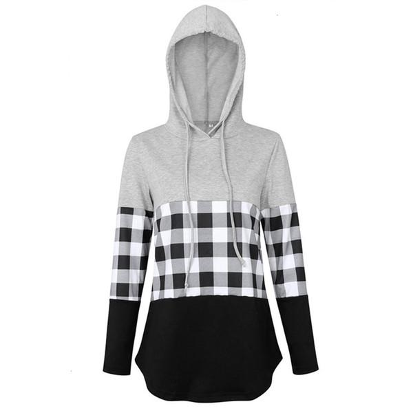 B: grau mit grau und weiß mit schwarzem