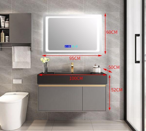 armadietto a specchio 100CM + intelligente