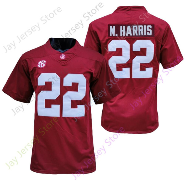 22 Najee Harris Red