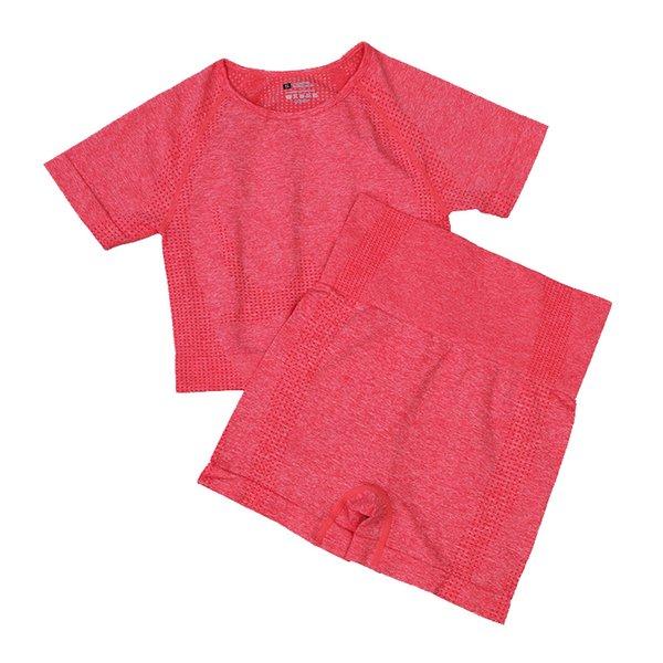 Pantaloncini corti rossi